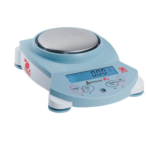 OHAUS AV212 Adventurer Pro Analytical and Precision Balance, Capacity 210g, Readability 0.01g