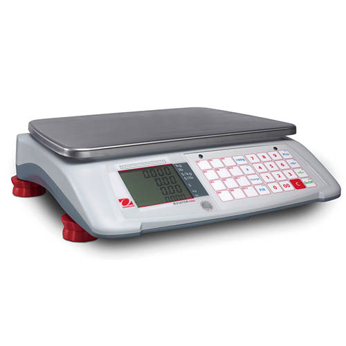 OHAUS A71P30DNUS Aviator 7000 30 lb Counter Top Advanced Pricing Retail Scale