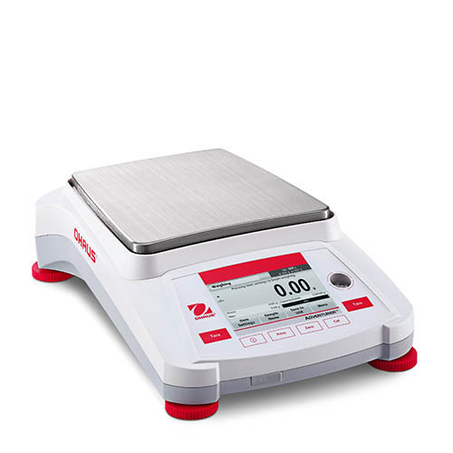 Ohaus AX2201/E Adventure Pro II Analytical/Precision Balance, External Calibration, 2200 g, 9 ppm