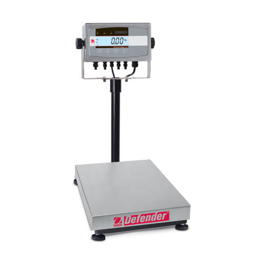 OHAUS D51XW15HR1 Defender 5000 Washdown Bench Scale, Capacity 15kg (30lb), Readability 1g (0.005lb)