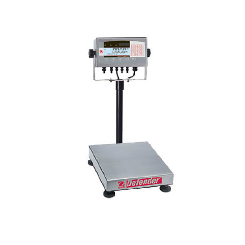OHAUS D71XW60HR1 Defender 7000 Washdown Bench Scale, Capacity 60kg (120lb), Res 0.01kg