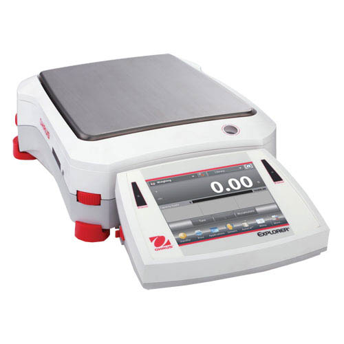 OHAUS EX10201 Explorer Analytical and Precision Balance, Cap. 10200g, Res. 0.1g