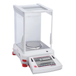 OHAUS EX124 Explorer Analytical and Precision Balance, Capacity 120g, Readability 0.0001g - Click here for product information page