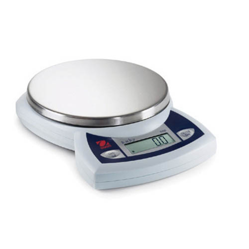 OHAUS JR2500 Ruby Compact Jewelry Scale, 2500 x 1 g Capacity x Readability, +/-1 g, Linearity