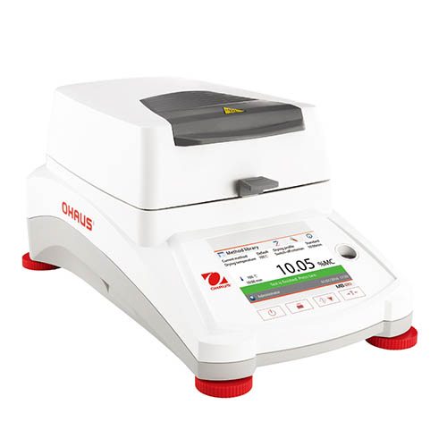 Ohaus MB120 MB Series Moisture Analyzer 120g Capacity, .001g Readability, 90mm Pan Size