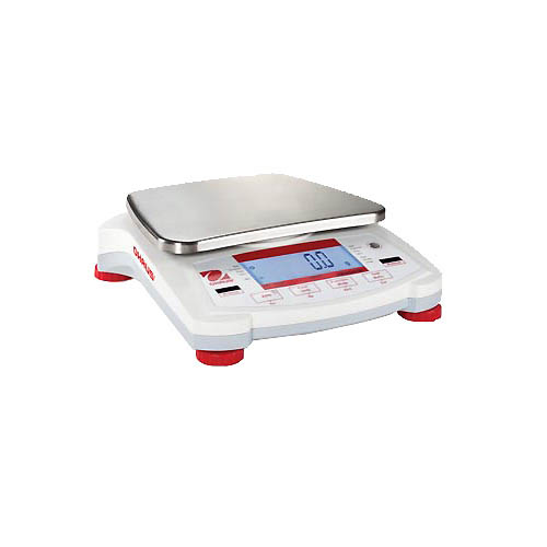 Click For Larger Image Ohaus NV4101 Navigator NV Portable Scale 4100g Capacity 9 Lb 02g