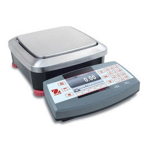 OHAUS R71MHD3 Ranger 7000 Compact Bench Scale, 3,000 g × 0.5 g Capacity x Readability