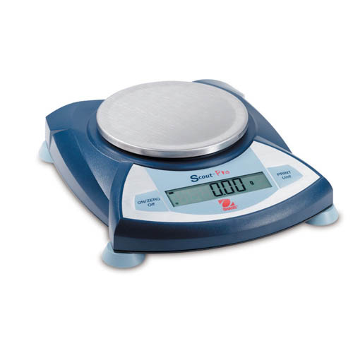 OHAUS SP202 Scout Pro Portable Scales, 200g capacity, 0.01g readability