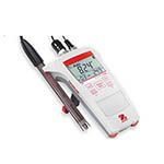 Click for larger image of the OHAUS ST300-B Starter 300 Portable pH Meter with IP54 Sets, Electrode Clip. (Electrode Not Included)