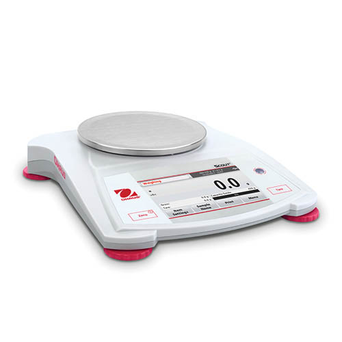 Ohaus STX422 Scout Portable Balance, Color Touchscreen Display, 420 g Capacity, 0.01 g Readability