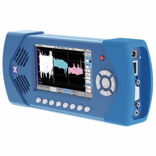 PHABRIX PHSXTAG Multi-Format Portable Video Test Signal Analyzer/Monitor (Left/Angle)