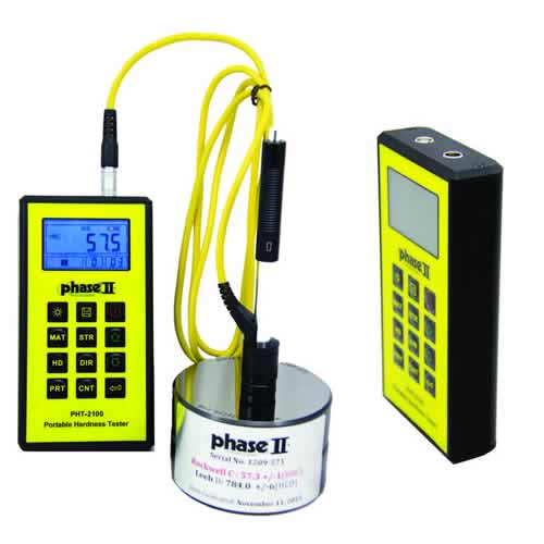Click for larger image of the Phase II PHT-2100 Rugged Metal Body Portable Hardness Tester