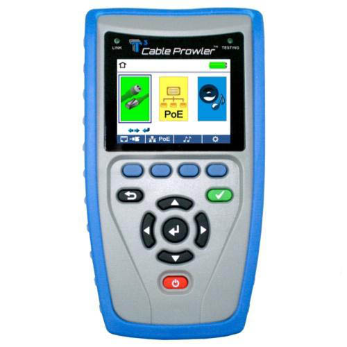 Platinum tools tcb300 cable prowler cable tester at the for Canape network testing tool