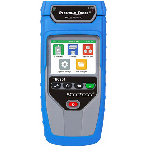Platinum Tools TNC950AR Net Chaser Network and Ethernet Speed Tester/Certifier, Up to 1 GB