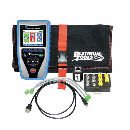 Platinum Tools TNP700 IPV4 and IPV6 Net Prowler Network Tester/Cable Verification