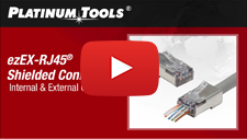 Platinum Tools- How To Terminate Shielded ezEX RJ45 Connectors
