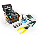 Click here for a larger image - Promax PROLITE-41 Optical Fiber Fusion Splicer, 7 Second Splicing, SM, MM, DS, and NZDS Fibers