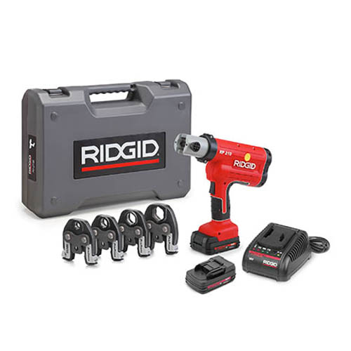 RIDGID 31028 RP 210-B Battery Press Tool Kit w/ProPress Jaws (1/2