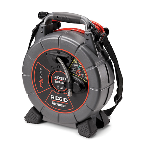 RIDGID 39998 SeeSnake NanoReel Inspection Camera System, N85S, Reel Only (for micro CA-300)
