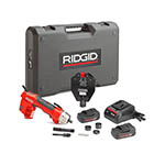 Click for larger image of the RIDGID 52103 RE 6 Electrical Tool Kit with 4P-6 4PIN Dieless Crimp Head