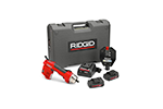 RIDGID 52103 RE 6 Electrical Tool Kit with 4P-6 4PIN Dieless Crimp Head