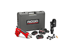 RIDGID 52123 RE 6 Electrical Tool Kit with Swiv-L-Punch Knockout Punch Head