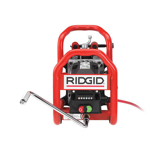 RIDGID 55088 Portable Pipe Beveller with 30° Cutter Head, 115V (back)