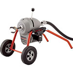 Click for larger image of the RIDGID 46907 K-1500SP Sectional Drain Cleaning Machine, Low-profile