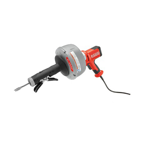 RIDGID 35998 K-45AF-1 Auto-Feed Drain Cleaning Machine with C-1IC Cable, Inner Drum, and Case