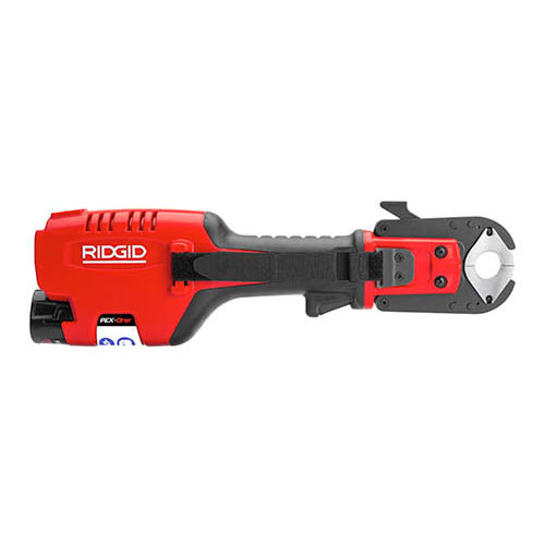 ridgid 56638 pex one 12v battery powered pex press tool tool only at the t. Black Bedroom Furniture Sets. Home Design Ideas