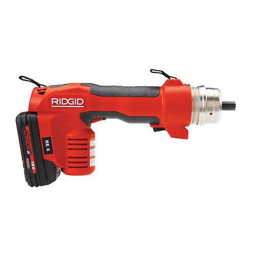 RIDGID 52108 RE 6 Electrical Tool Kit with SC-60C Scissor Cutter with Cu/Al Blades (side)