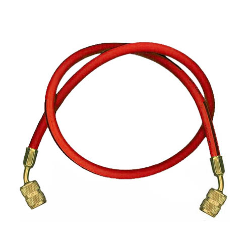 Robinair 19312 36 in Red Replacement Hose with Automatic Shut-off for 12134A Series