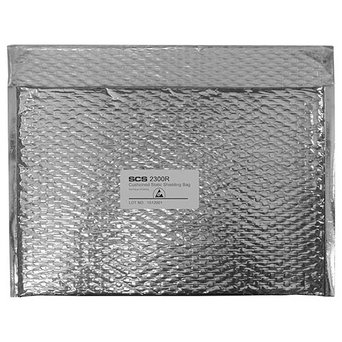 SCS 23087 Cushioned Static Shield Bag 8 in. x 7 in. 100 Count