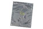 SCS 3001012 Zippered Metal-In Static Shield Bag 10 in. X 12 in. 100 Count