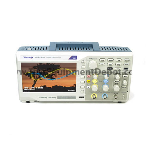 Tektronix TBS1102B 100MHz 2-Ch 2GS/s TFT Digital Storage