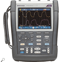 Tektronix THS3024 200 MHz, 4-Ch Handheld Digital Storage Oscilloscope