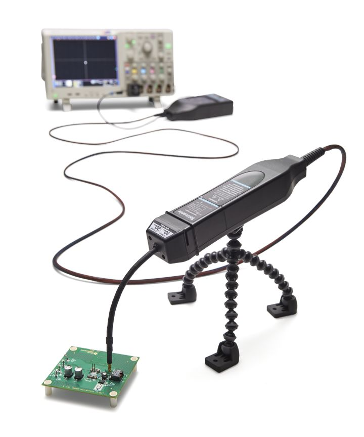 Tektronix TIVM1L Isolated Differential Probe Measurement System, 1 GHz, IsoVu, 10m Cable (Attached to Oscilloscope)