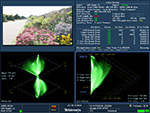 Patented Tektronix gamut displays – efficiently detect and allow correction of gamut problems