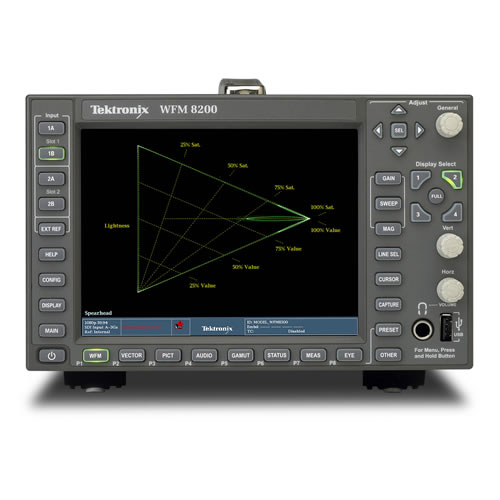 Tektronix Video WFM8200 3G/HD/SD-SDI Waveform Monitor with All-in-One Platform