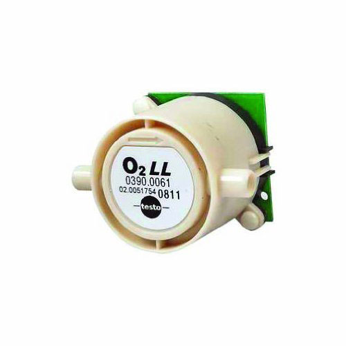 Testo 0390 0061 Replacement O2 Sensor for Models 330-1 LL / 330-2 LL, 0 to 21 Vol. %