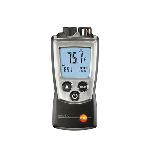 Testo 810 (0560 0810) 2-Channel Infrared and NTC Air Thermometer