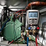 Click here for a larger image of the Testo Digital Refrigeration Manifolds
