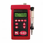 Click here for a larger image - UEi KM940CON Combustion Analyzer w/O2, CO, NO1, Calculated NOX, 1 ppm Res, 0~5000 ppm Range