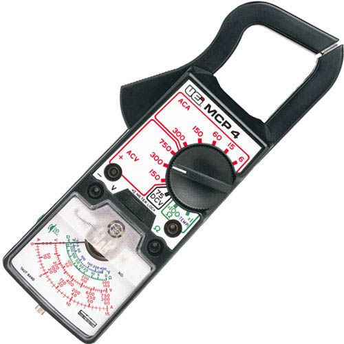 Analog Clamp Meter : Uei mcp analog clamp meter amps ac volts