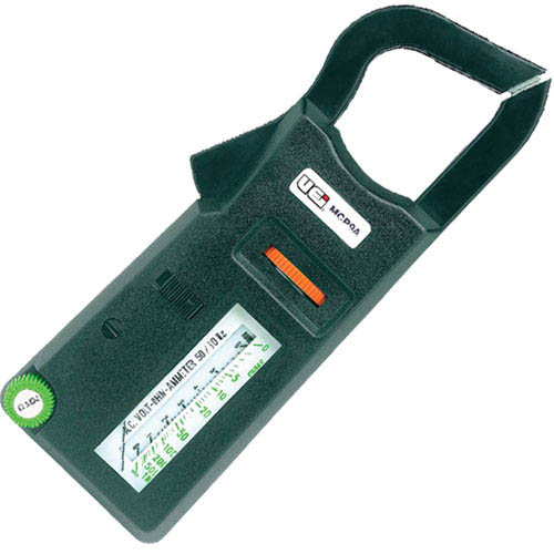 Analog Clamp Meter : Uei mcp a range analog clamp on meter at