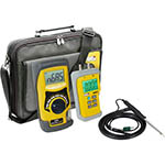 Click for larger image of the UEi SMARTBELLPLUSKIT Combustion Meter Kit with EM201 Differential Dual Manometer