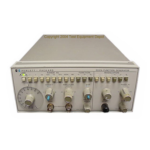 Image of Agilent-HP-3312A by Test Equipment Depot