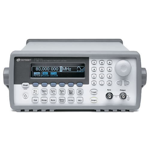 agilent 33250a arbitrary function waveform generator refurbished rh testequipmentdepot com  agilent 33250a programming manual
