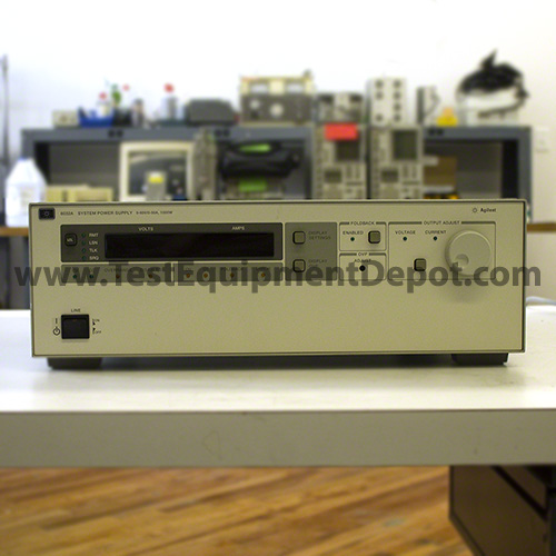 hewlett packard 6030a autoranging system power supplies refurbished rh testequipmentdepot com 6035A Power Supply HP 6038A