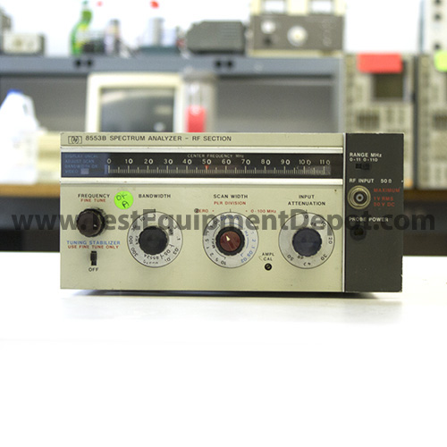 Used Test Equipment : Hewlett packard agilent b khz mhz rf